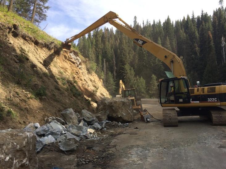 Photograph courtesy of Idaho Transportation Department